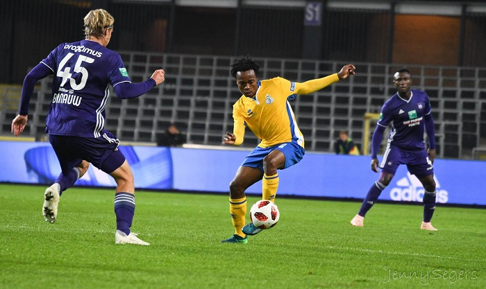 Percy Tau of Royale Union Saint-Gilloise