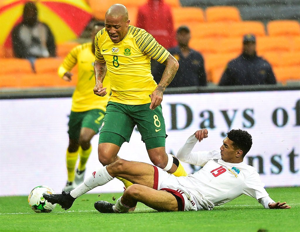 Highlights: Bafana pushed into second