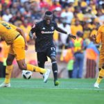 Orlando Pirates forward Augustine Mulenga