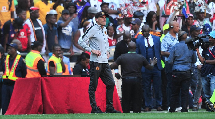 Giovanni Solinas, coach of Kaizer Chiefs
