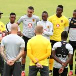 Kaizer Chiefs training