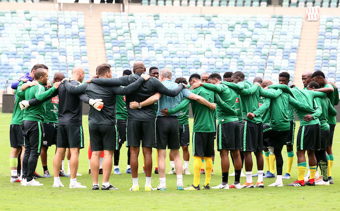 Bafana see off SuperSport in friendly