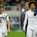 Germany lose to France