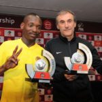 Kaizer Chiefs duo khama Billiat and Giovanni Solinas
