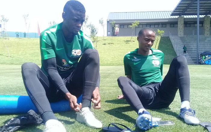 Innocent Maela and Thembinkosi Lorch