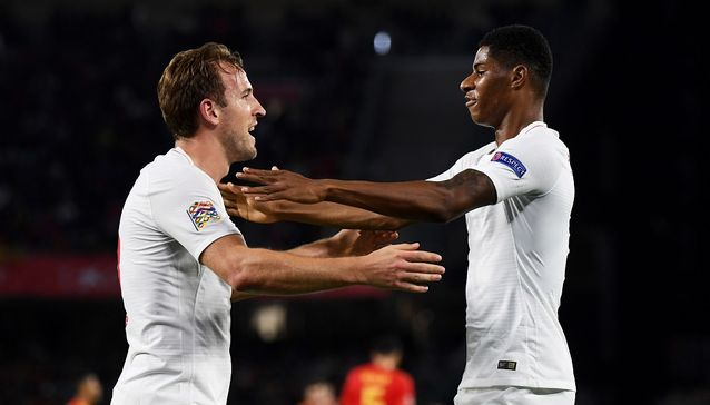 Highlights: England stun Spain in Nations League