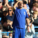Sarri sorry after touchline bust-up overshadows Chelsea's late escape