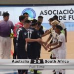 SA U20 get off to winning start at Futsal WC