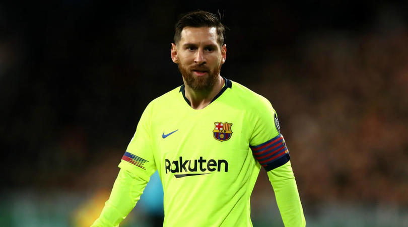 Messi's genius wraps up top spot in Group B