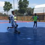 Gauteng Futsal association trials at the University of the Witwatersrand