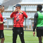Milutin Sredojevic, head coach of Orlando Pirates during the Orlando Pirates Training on the 22 October 2018 at Rand Stadium / Pic Sydney Mahlangu/BackpagePix
