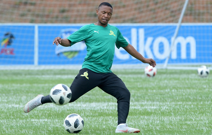 Andile Jali of Mamelodi Sundowns
