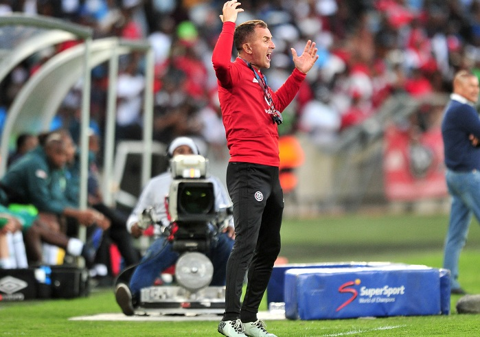 Milutin Sredojevic, coach of Orlando Pirates