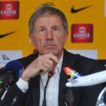 Stuart Baxter head coach of Bafana Bafana