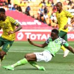 Bafana held by Nigeria