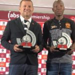 Polokwane City duo Josef Vukusic and Jabulani Maluleke win Absa Premiership monthly awards.