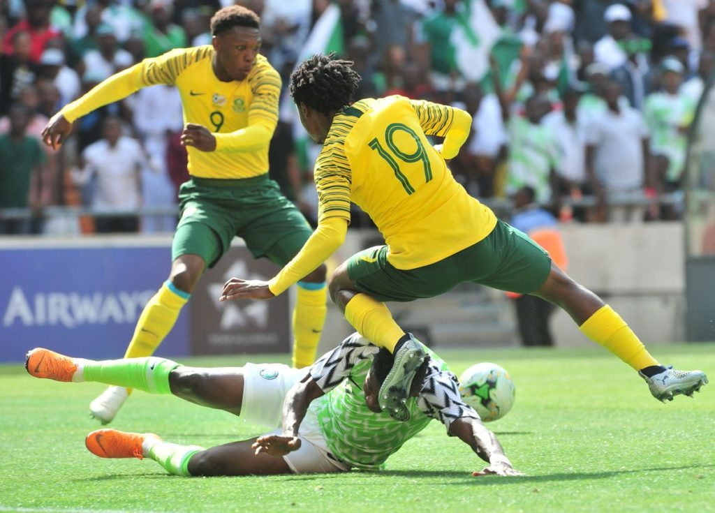 Player Rating: Bafana Bafana 1-1 Nigeria