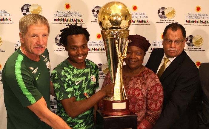 Bafana Bafana play Nigeria before taking on Paraguay in the Nelson Challenge Cup.