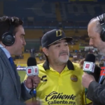 Watch: Maradona's bizarre post-match interviews