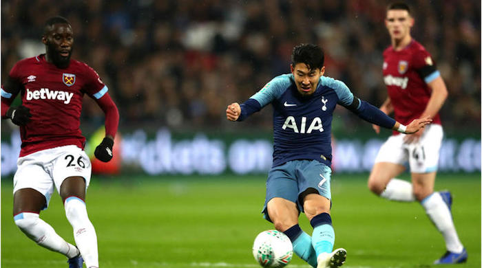 Spurs edge West Ham