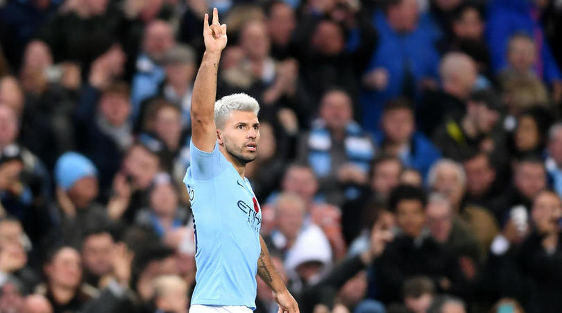 Sergio Aguero of Manchester City