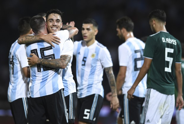 Experimental Argentina cruise past Mexico