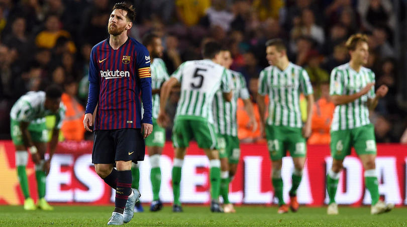 Barca concede four at home for first time since 2003