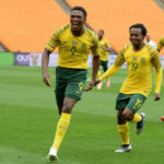 Bafana Bafana duo Lebo Mothiba and Percy Tau
