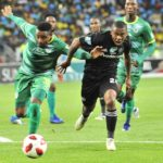 Thabiso Semenya of Baroka FC and Thabiso Kutumela of Orlando Pirates