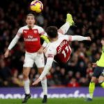 Arsenal up to third thanks to Torreira's overhead kick