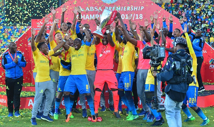 Mamelodi Sundowns were the big winners in the PSL in 2018