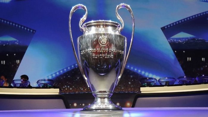 Uefa Champions League trophy
