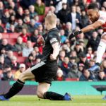 Aubameyang fires dominant Arsenal past Burnley