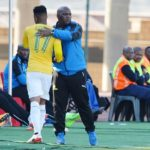 George Lebese and Pitso Mosimane