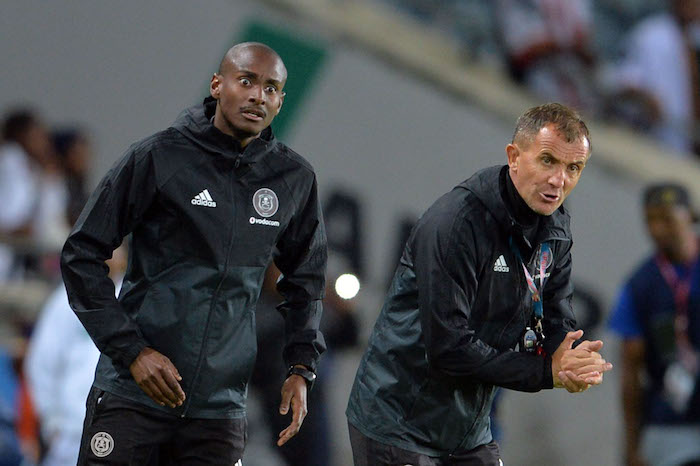 Orlando Pirates duo Rulani Mokwena and Milutin Sredojevic
