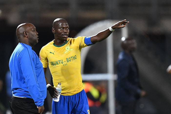 Sundowns duo Pitso Mosimane and Hlompho Kekana