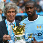 Manuel Pellegrini and Yaya Toure